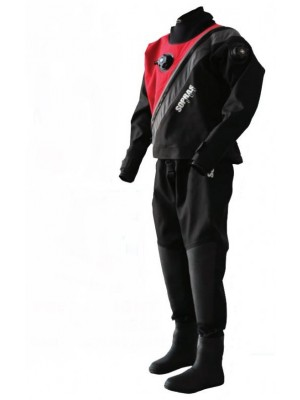 Sopras Sub Trilaminate Drysuit With Booties