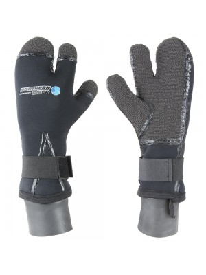 7мм 3х палые перчатки